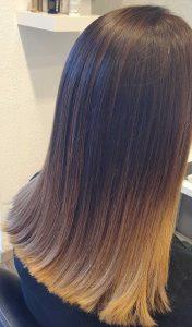 Friseur Carina Salzburg - Schnitt glatte Haare
