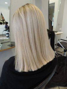 Friseur Carina Salzburg Blondierung